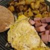 Jenn's healthier breakfast slam