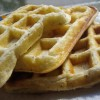 Lemon Poppy-seed Waffles