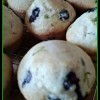 Blueberry Lime Muffins - 139 calories each and delicious!