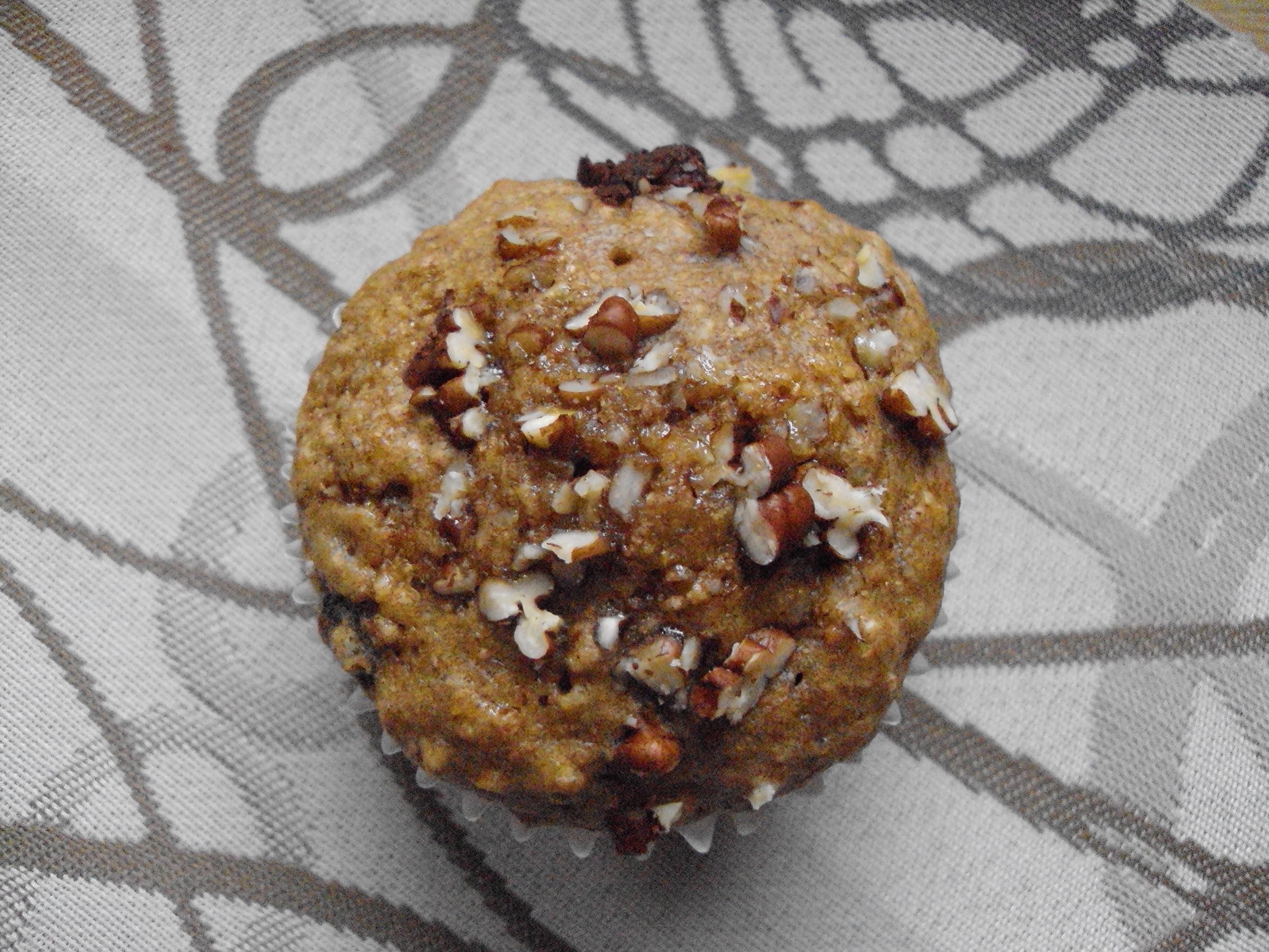 banana chocolate chip muffin 001