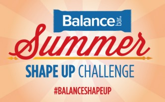 BALANCE BAR WELCOMES SUMMER WITH SHAPE UP CHALLENGE