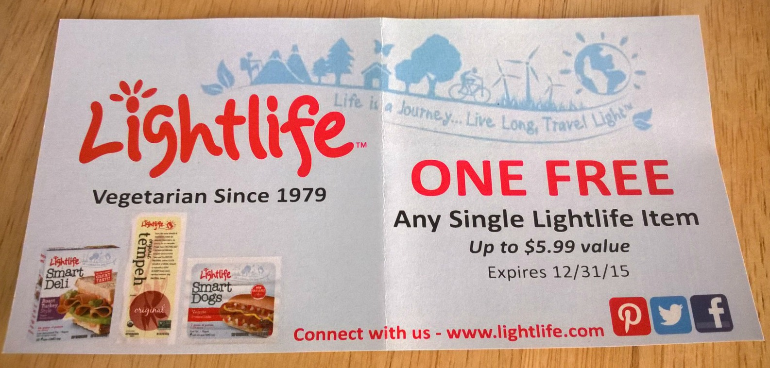 Lightlife Coupons