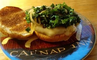 veggie burger, lightlife pattie