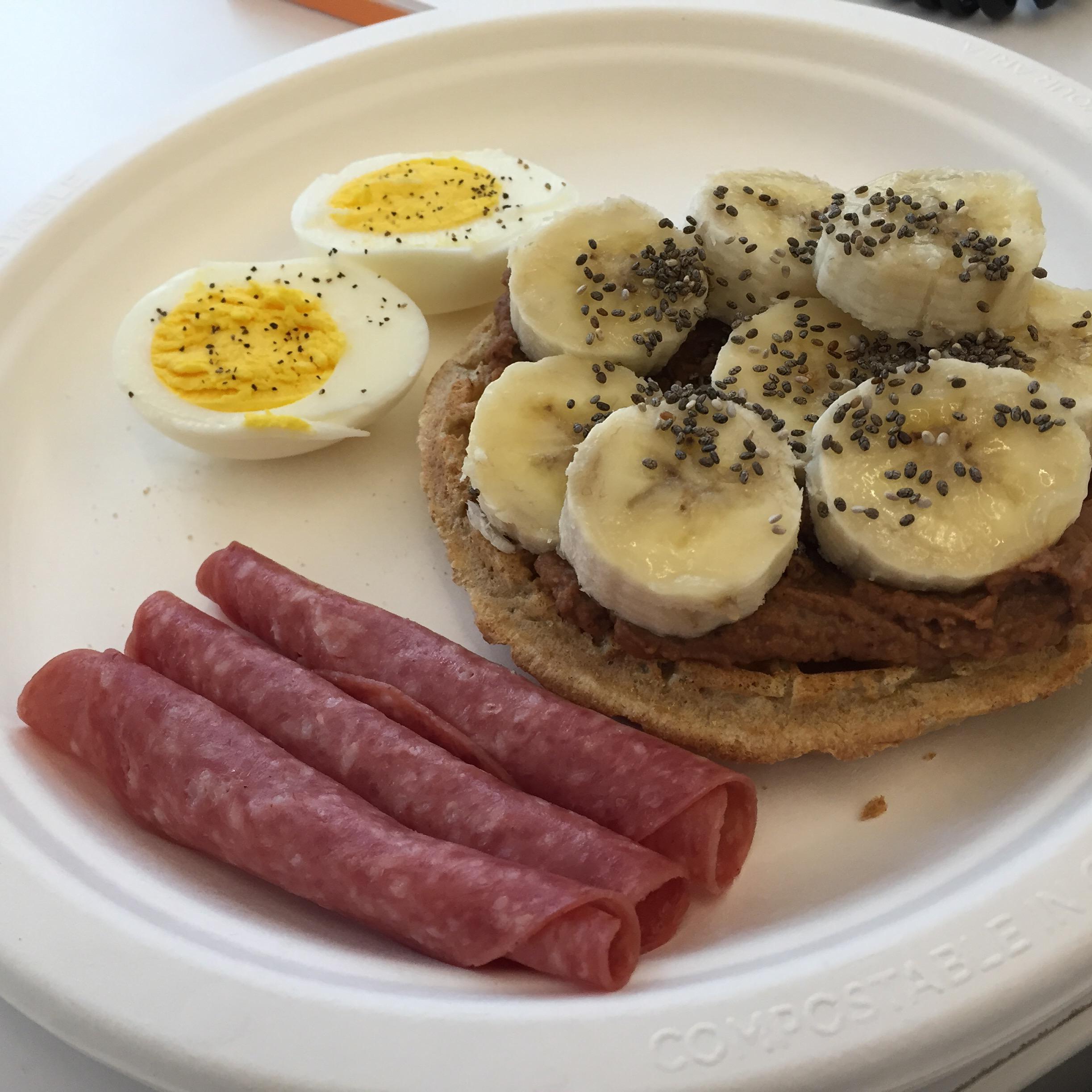 scrambled eggs in a jar - weight watchers