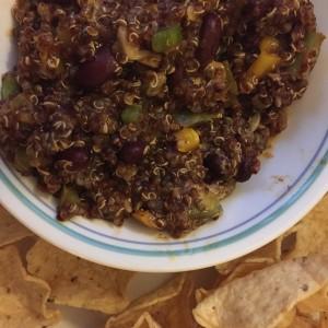 quinoa enchilada bake